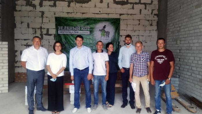 «Зеленый КОТ» принимает гостей