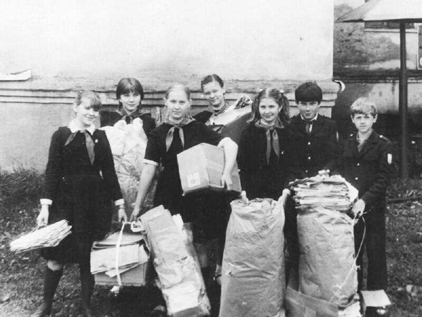 Когда в СССР начали сортировать мусор впервые?
