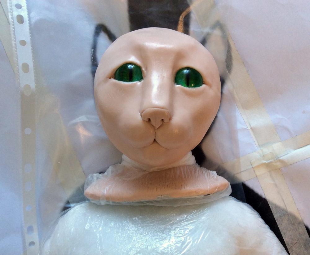 История появления куклы «Зеленый КОТ»